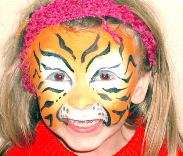 Tigger - Face Painting by Arty-Faces - Bristol